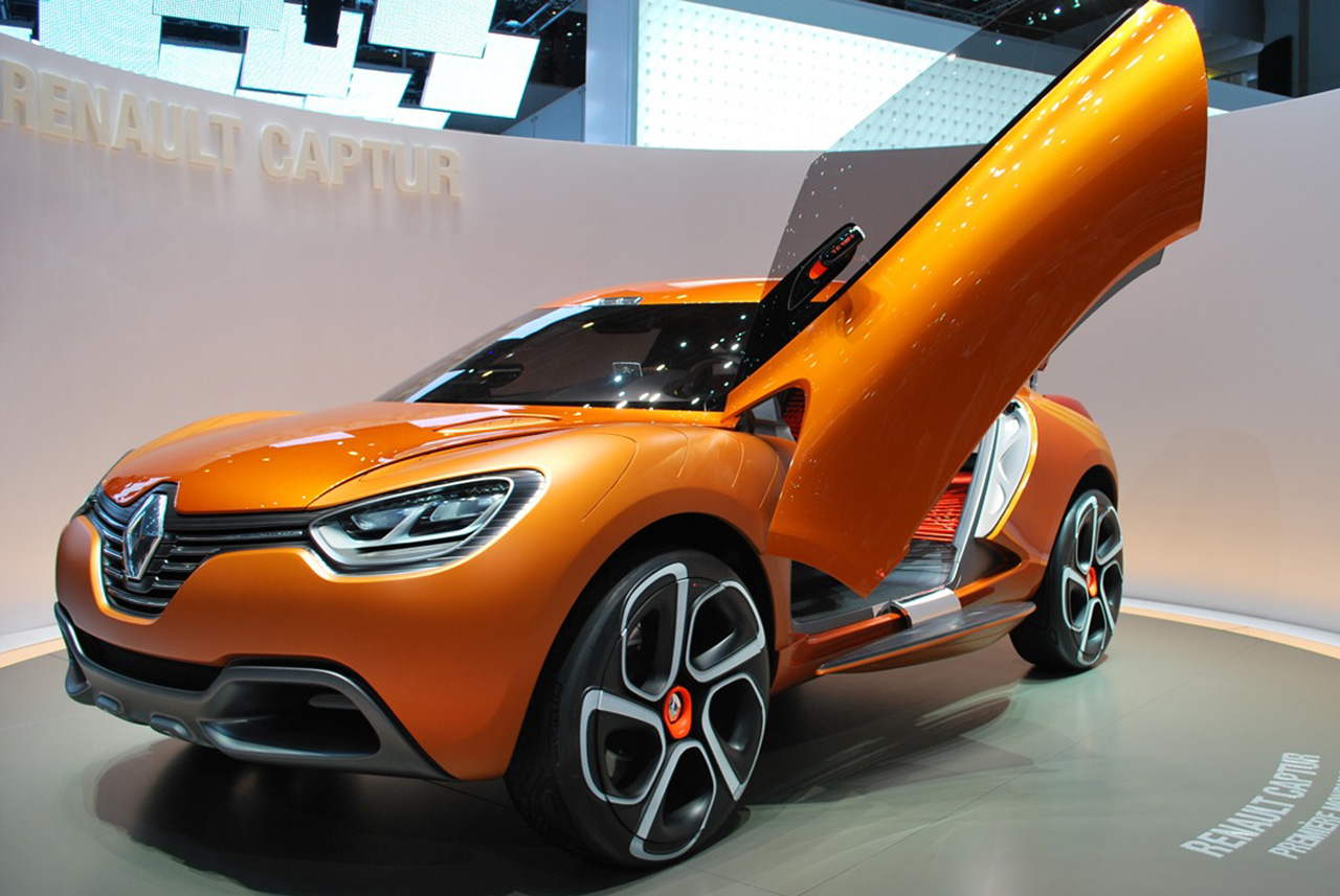 renault captur concept concept cars drive away 2day. Black Bedroom Furniture Sets. Home Design Ideas