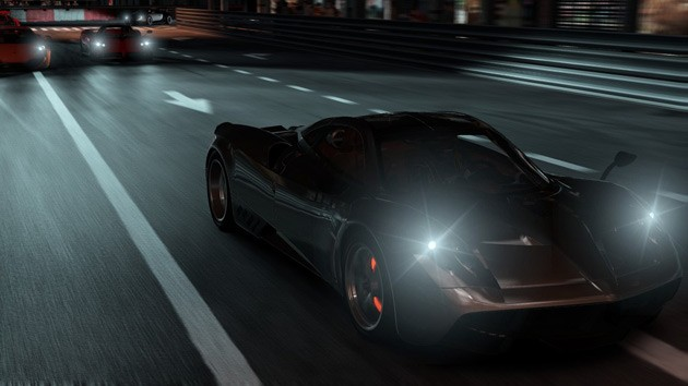 Pagani Huayra in Shift 2 Unleashed, night racing