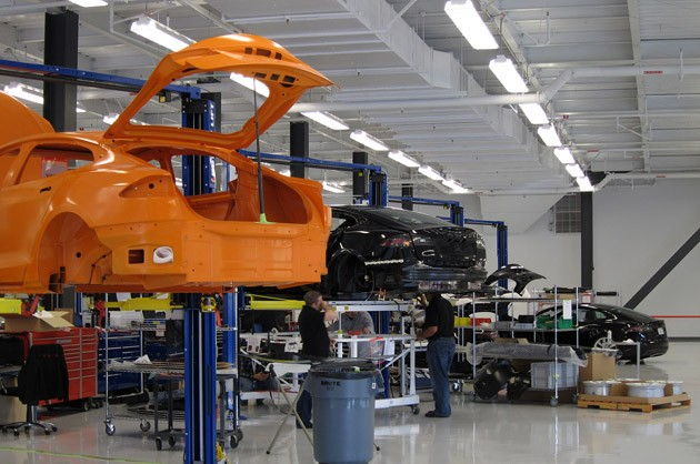 Tesla Model S Development Facility
