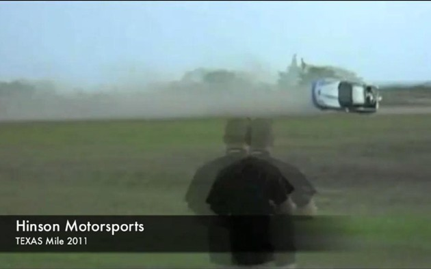 Hinson Motorsports 2011 Texas Mile crash