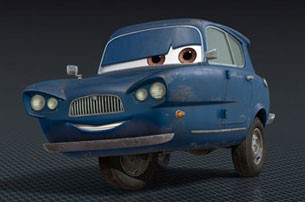 Tomber from Pixar's CARS 2