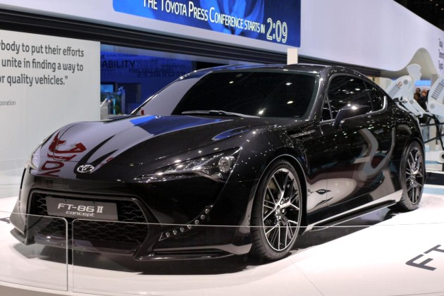 Toyota FT-86 II Concept at the 2011 Geneva Motor Show