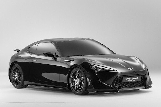 Toyota FT-86 II concept in the studio