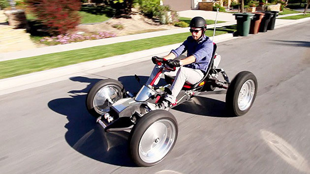 Translogic drives the Z-Kart