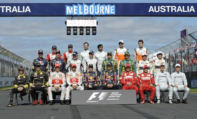 2011 Formula One drivers