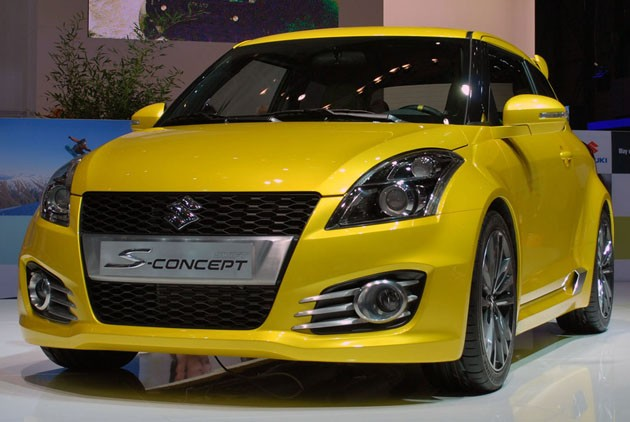Suzuki Swift S-Concept - Geneva debut