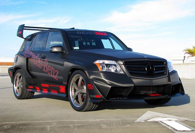 RENNtech Mercedes-Benz GLK350 Hybrid Pikes Peak Rally Car