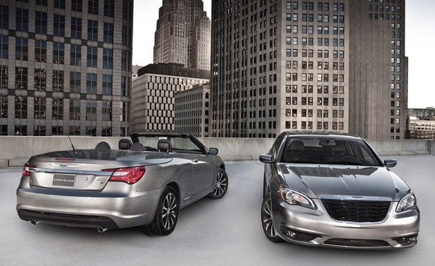 2011 chrysler 200 s sedan and 200 s convertible