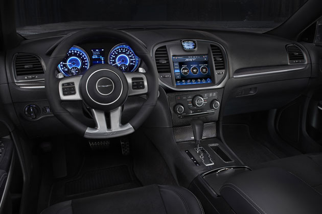 2012 Chrysler 300 SRT8 interior