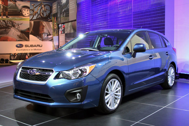 2012 Subaru Impreza Five-Door