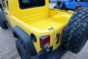 Jeep Wrangler JK-8 Independence pickup truck bed
