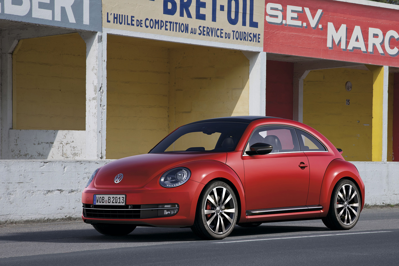 VW presents 2012 Beetle