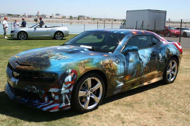 Airbrushed 2011 Chevrolet Camaro