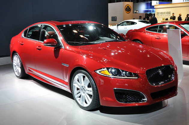 2012 Jaguar XFR live in New York