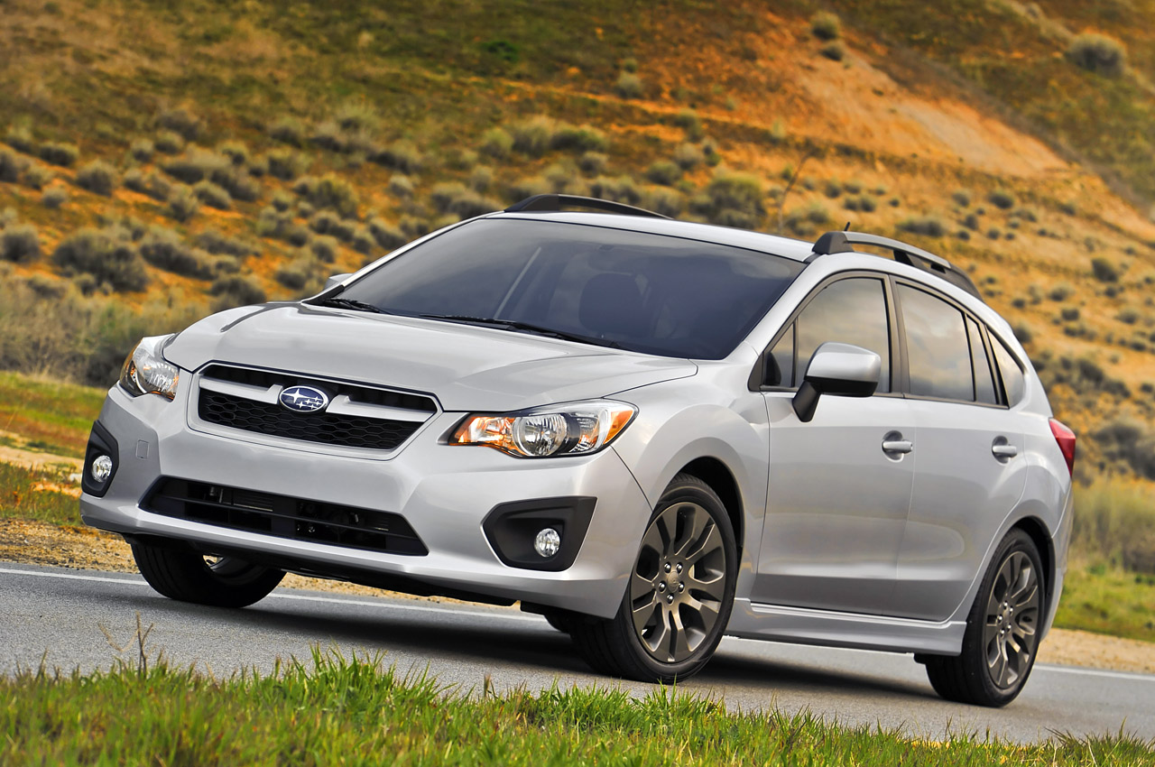 redesigned 2012 subaru impreza retains 17 495 starting price autoblog. Black Bedroom Furniture Sets. Home Design Ideas