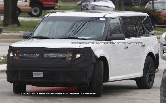 2013 Ford Flex Spy Shot