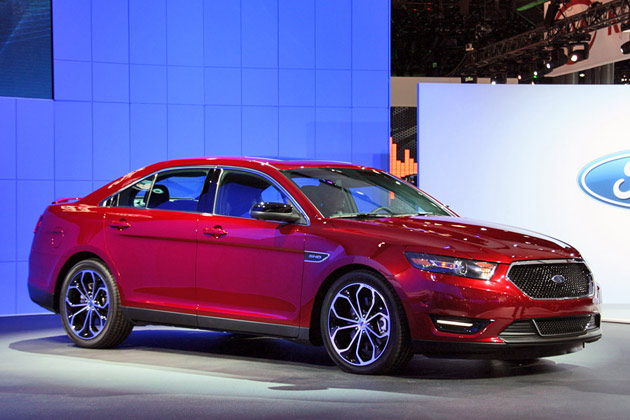 2013 Ford Taurus SHO: 2011 New York Auto Show