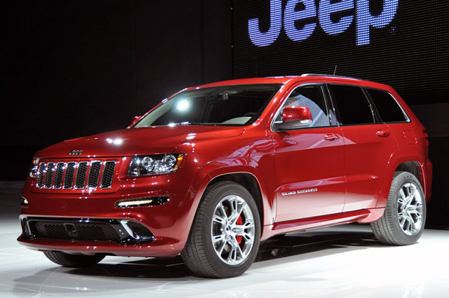 2012 Jeep Grand Cherokee SRT8: New York 2011
