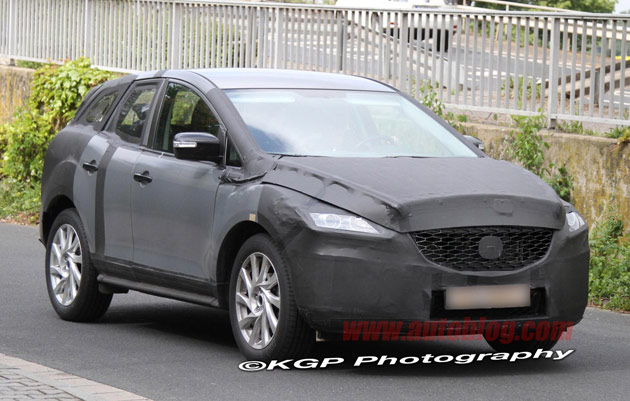 Mazda CX-5 spy shots