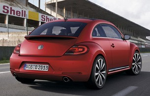 2012 Volkswagen Beetle rear