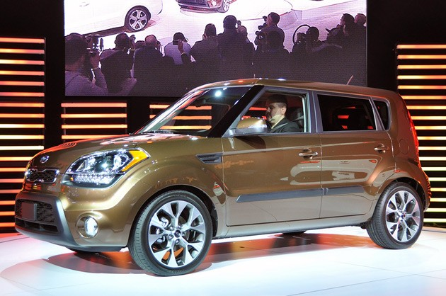 2012 Kia Soul at the 2011 New York Auto Show