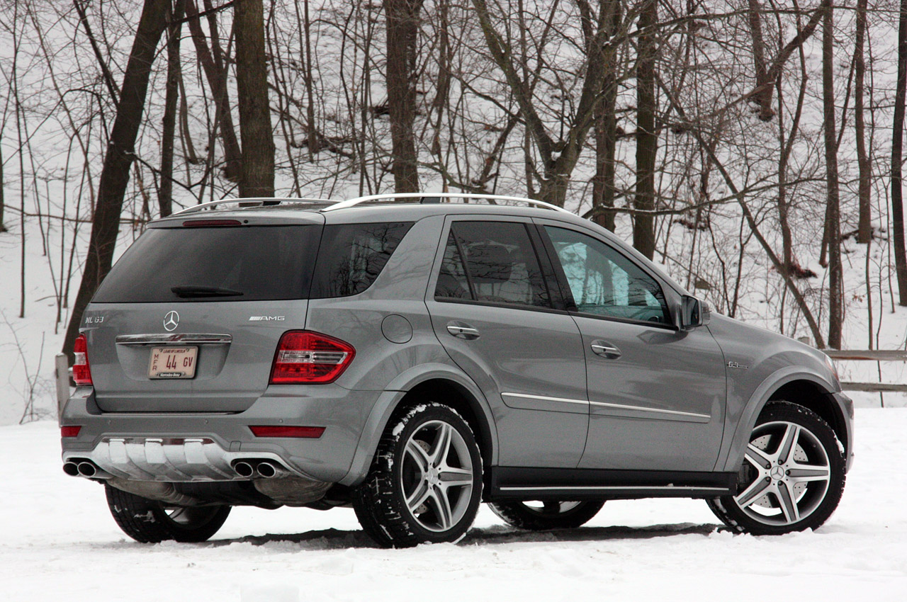 2011 mercedes benz ml63 amg review photo gallery autoblog for Mercedes benz amg ml63
