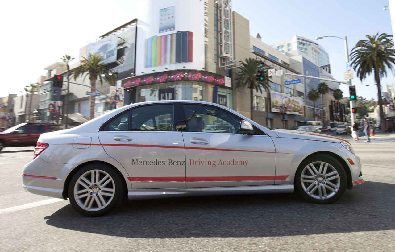 Mercedes benz driving academy los angeles photo gallery for Mercedes benz service los angeles