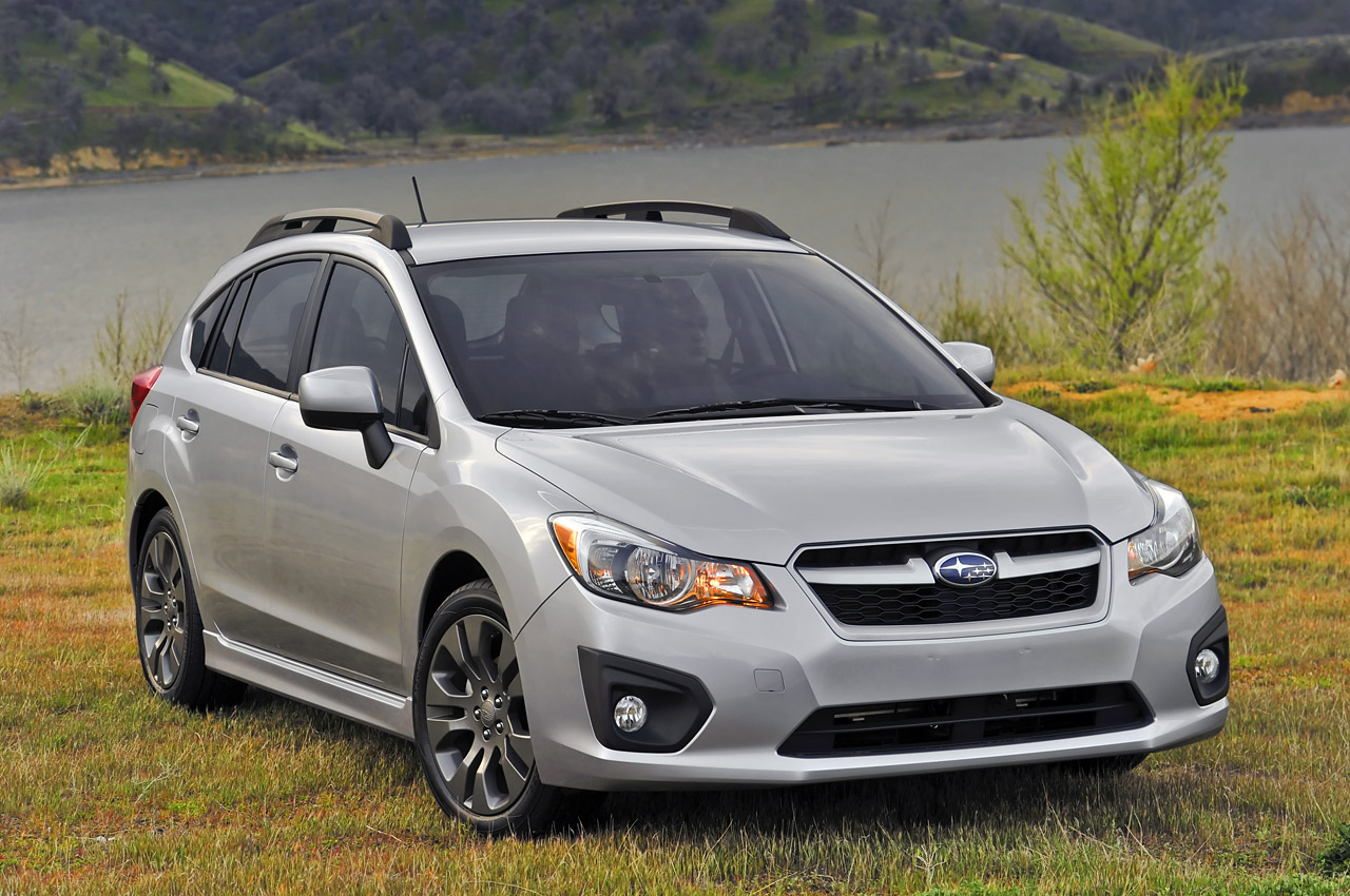 2012 subaru impreza 5 door photo gallery autoblog. Black Bedroom Furniture Sets. Home Design Ideas