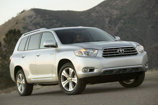 toyota recalls 308 000 rav4 and highlander models over. Black Bedroom Furniture Sets. Home Design Ideas