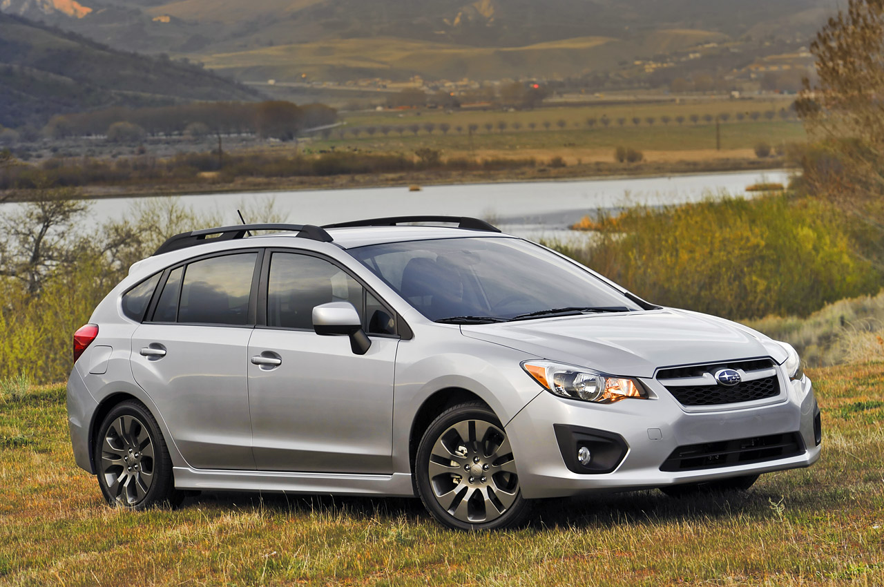 2012 subaru impreza - a closer look