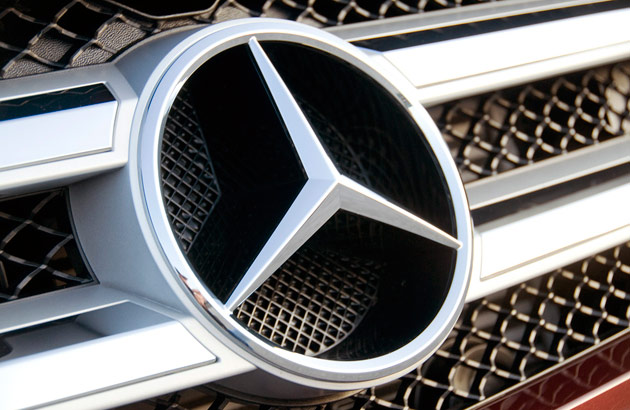 New Mercedes Benz Logo. Mercedes-Benz logo