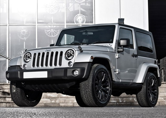 Project Kahn silver Jeep Wrangler