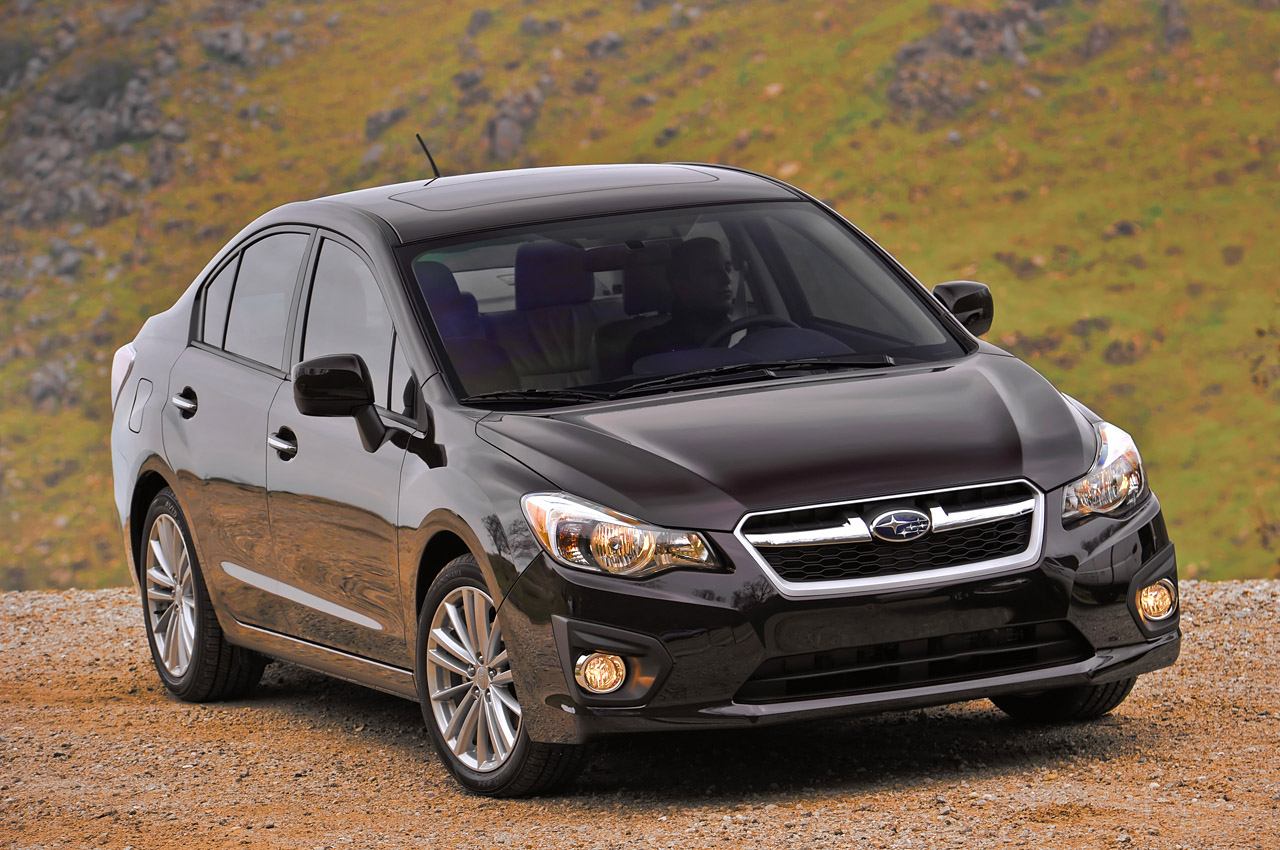2012 subaru impreza sedan photo gallery autoblog. Black Bedroom Furniture Sets. Home Design Ideas