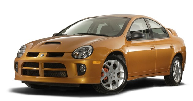 2005 Dodge Neon SRT-4 in orange