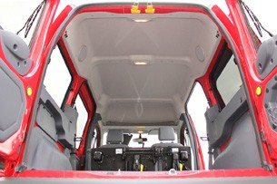 2011 Ford Transit Connect XLT interior ceiling