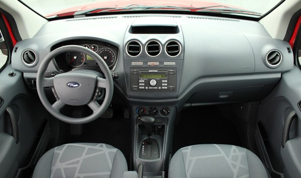 2011 Ford Transit Connect XLT interior
