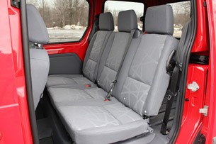 2011 Ford Transit Connect XLT rear seats