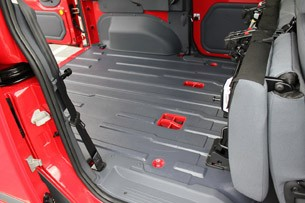 2011 Ford Transit Connect XLT cargo area