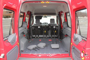 Ford Transit Connect XLT cargo area