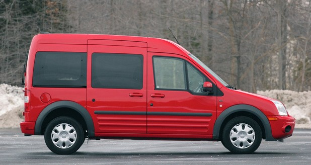 2011 Ford Transit Connect XLT side view