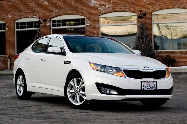 2011 Kia Optima EX - Click above for high-res image gallery