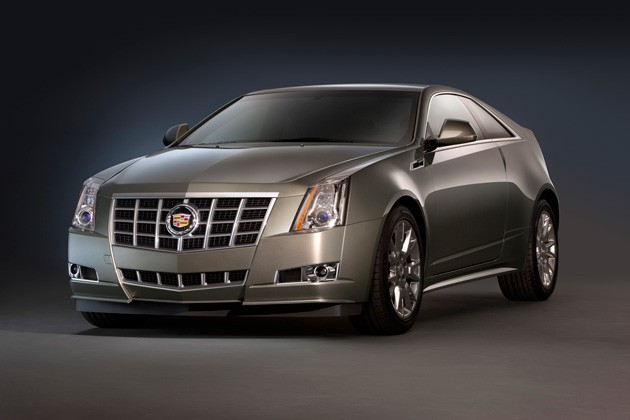 2012 Cadillac CTS Coupe with new grille