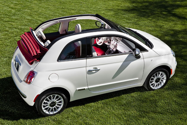 2012 fiat 500c priced from 19 500 w video. Black Bedroom Furniture Sets. Home Design Ideas