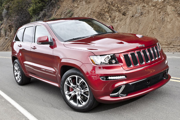 2012 jeep grand cherokee srt8 arrives as quickest jeep ever made. Cars Review. Best American Auto & Cars Review