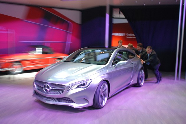 2012 Mercedes-Benz A-Class Concept Fail