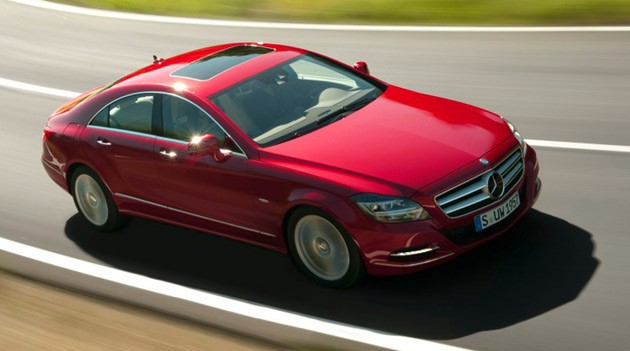 2012 Mercedes-Benz CLS550