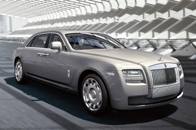 2012 Rolls-Royce Ghost Extended Wheelbase