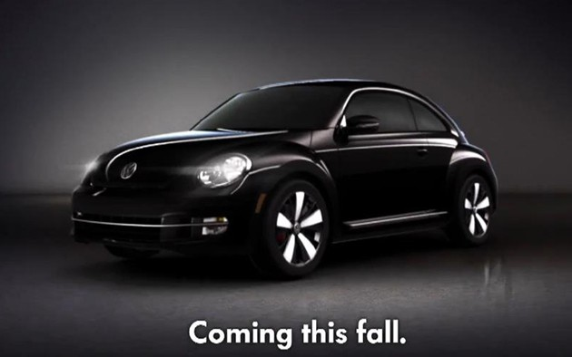 VW Black Betty Beetle commercial