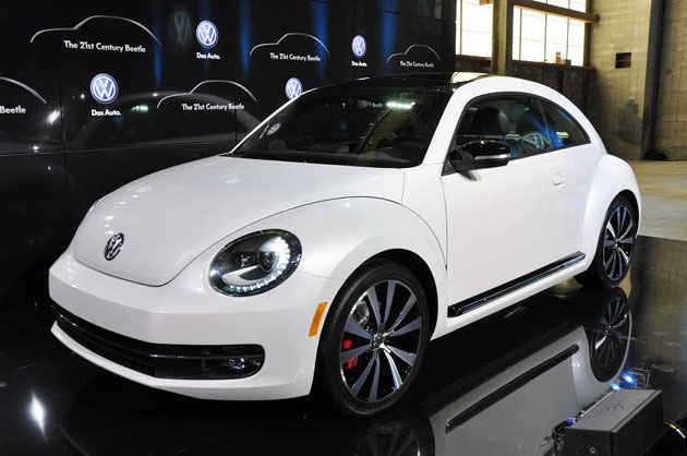 2012 VW New Beetle on display in New York