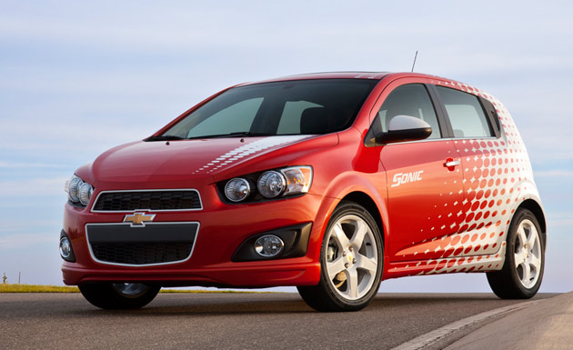 2012 Chevrolet Sonic with Z-Spec accessories